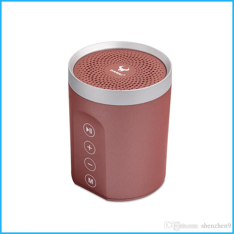 DS-7606 Subwoofer Bluetooth Speaker 8W Bass Stereo TF Aux FM Outdoor Sport Portable Music Player vs Bluedio Charge 3 Soundbar MIS160