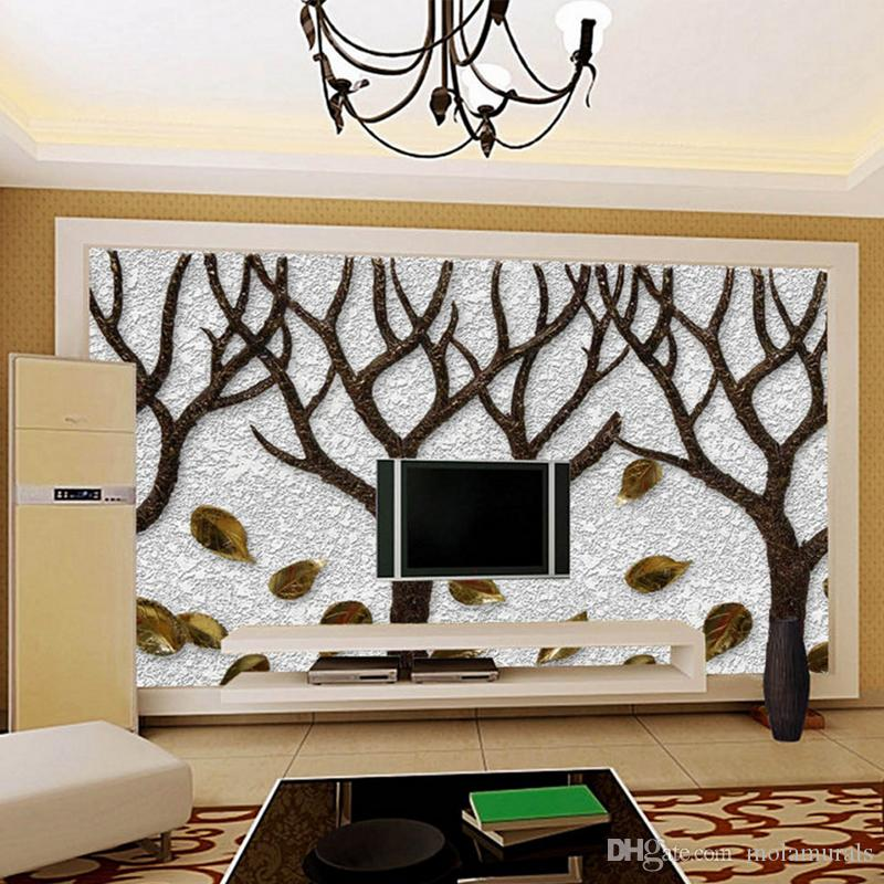 3d Room Wallpaper Custom Mural Non Woven Wall Sticker Tree Trunk 3d Printed  Bedroom Tv Wall Painting Photo Wallpaper For Walls High Wallpaper Hd  Hollywood ...