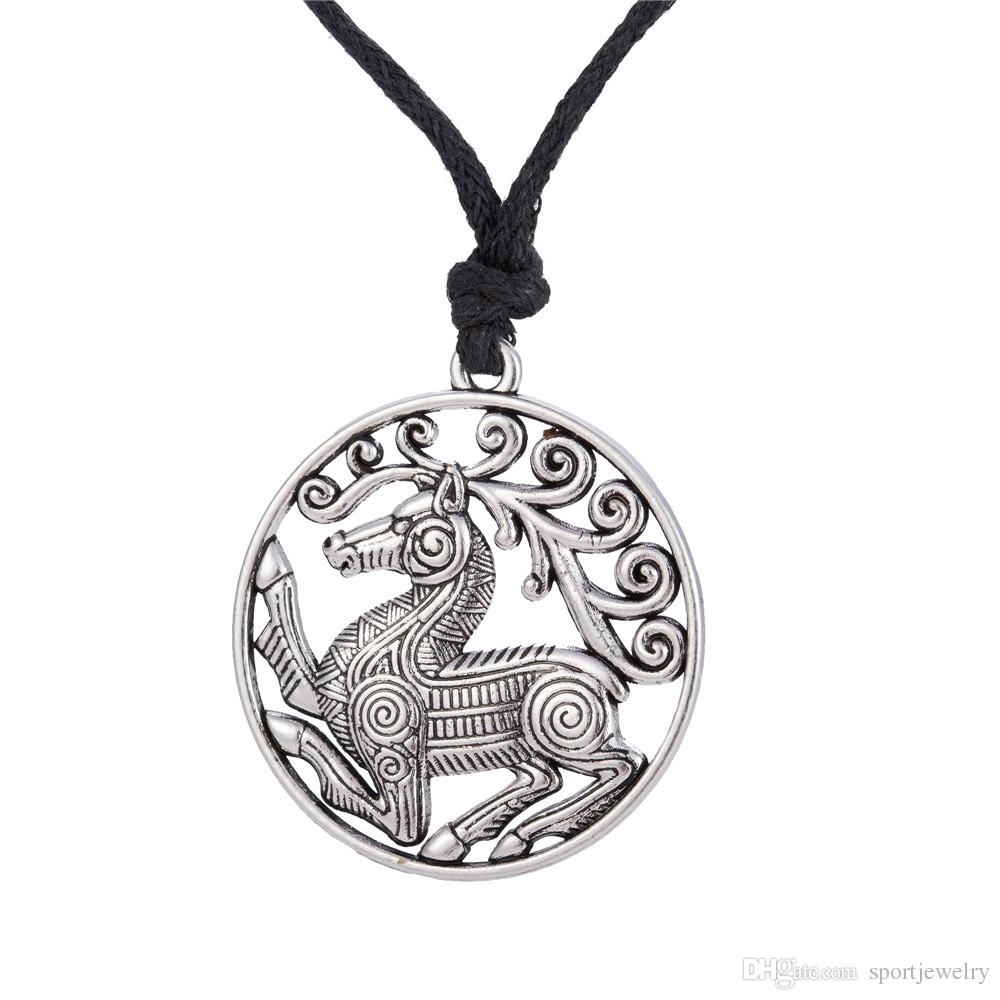 Wholesale odins steed viking mens jewelry steampunk pendant wholesale odins steed viking mens jewelry steampunk pendant necklace scandinavian norse viking horse necklaces male trending prod a128136 amber pendant aloadofball Choice Image