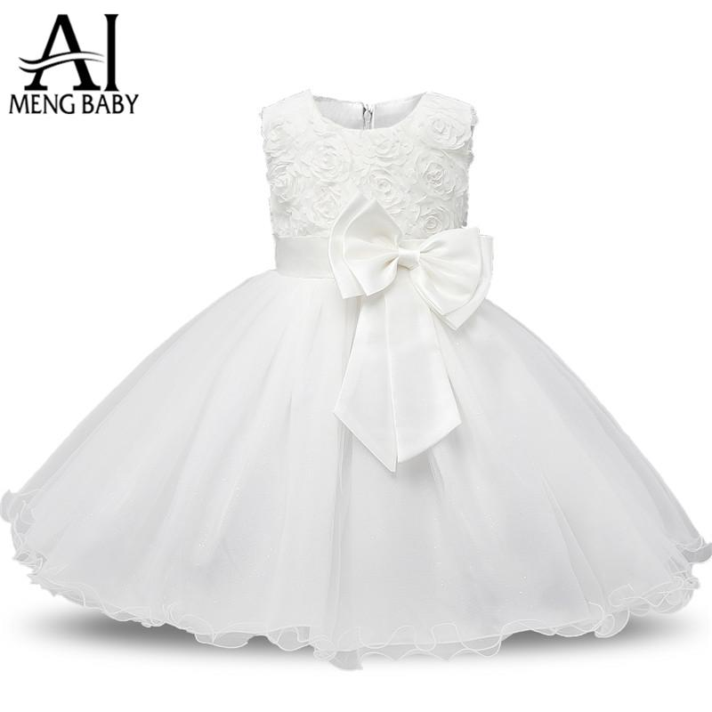 Dresses Mother & Kids Sensible Newborn Kids Baby Girls Sky Blue Dress Sleeveless Bow Princess Party Dresses Clothes Outfits