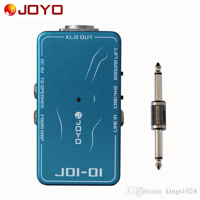JOYO JDI-01 DI Box with amp simulation With ground lift switch+MOOER PC-S pedal connector guitar effect pedal