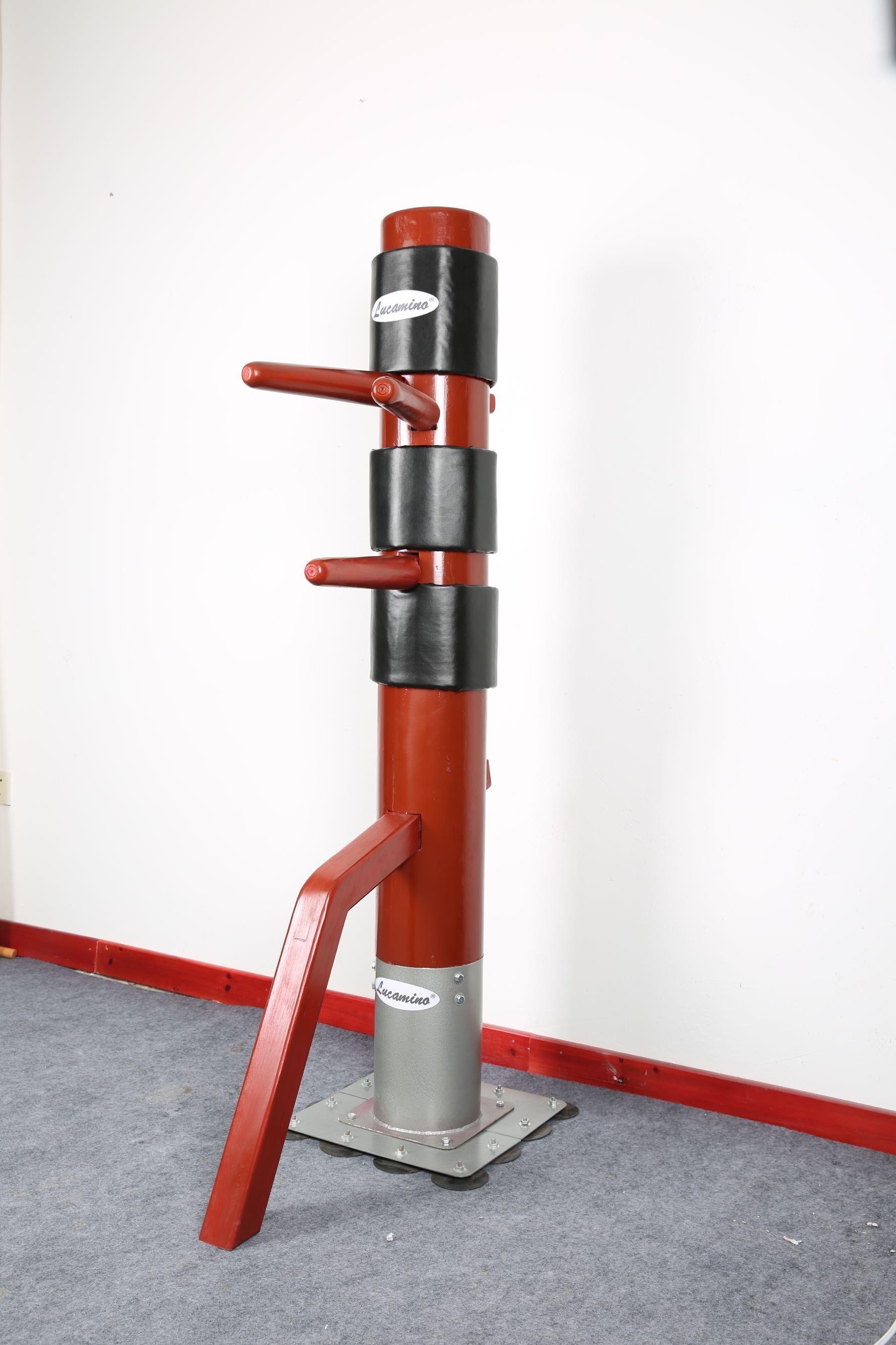 Factory Direct Patent Stand Column Wing Chun Wooden Dummyone Punch Man Kung Fu Training Mook Jongip Man Martial Arts Retailwholesale