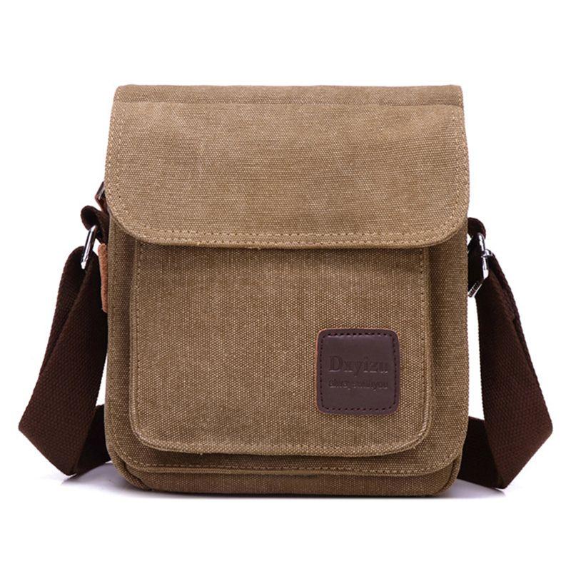 Men s Vintage Bolsas de viagem de alta qualidade Casual Mensageiro Bag  Shoulder Bag Crossbody Sacos Satchel ae89450bf5112