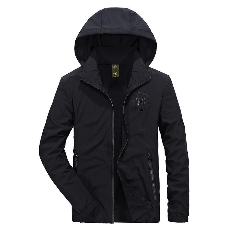 chaqueta de los hombres gabardina campo militar chaquetas casuales hombres 2017 sudaderas con capucha ropa de hombre BASE DE CAMPO