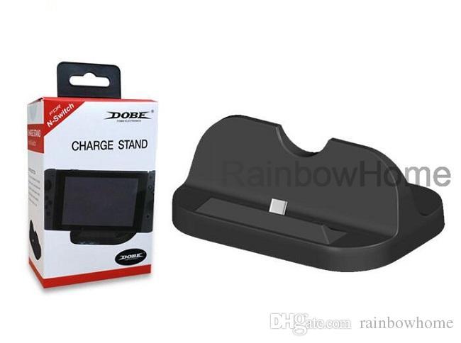 충전기 충전대 충전 브라켓 홀더 스위치 용 고속 충전 도킹 스테이션 NS 콘솔 컨트롤러 게임 패드 USB TYPE-C DHL