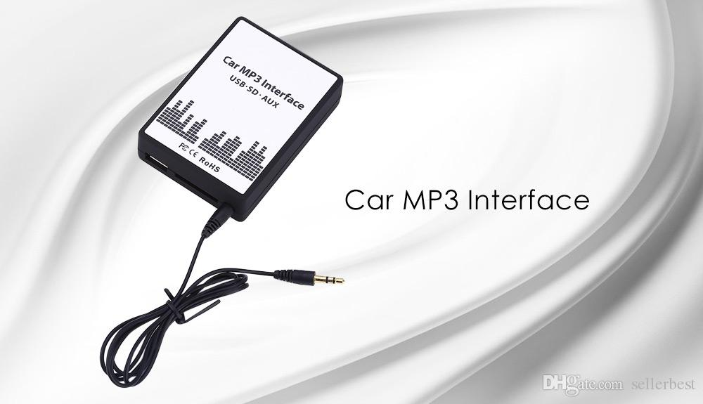 Car MP3 Interface USB / SD Data Cable Audio Digital CD Changer Smart Design And Easy to Install for Toyota / Lexus / Scion