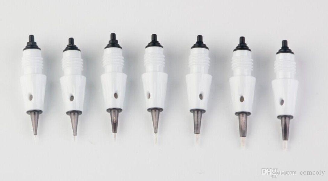 PMU Permanente agulha de substituição Agulhas de Tatuagem Cartucho Dicas Se Encaixa para Artmex V8 V6 V6 semi máquina de maquiagem caneta derma