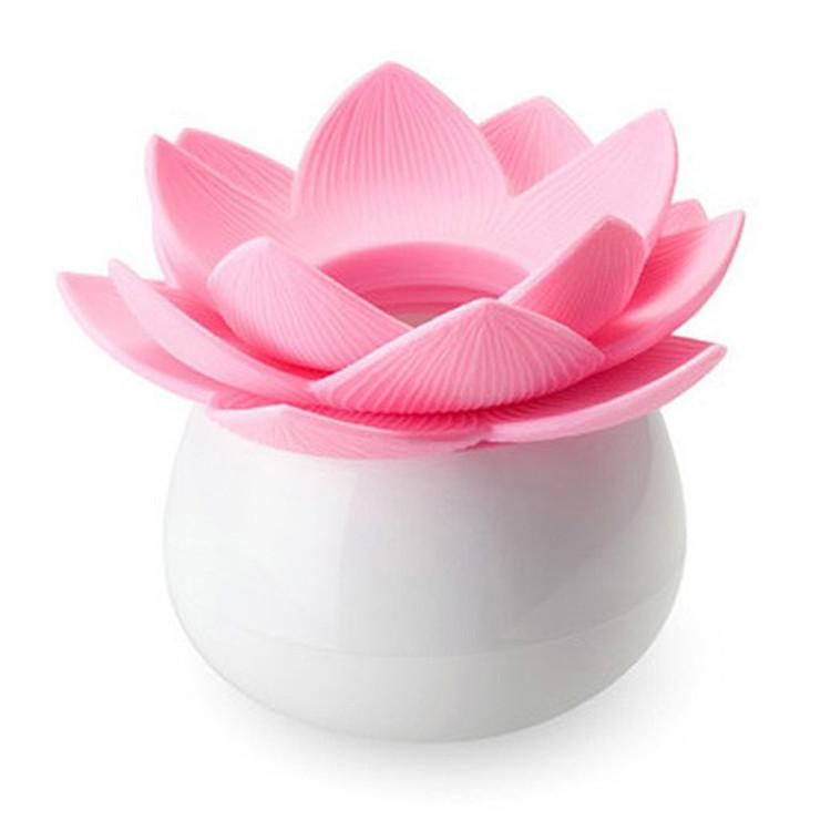 Wholesale Creative Lotus Flower Shape Tooth Pick Holder Cotton Swab