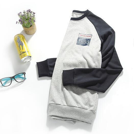 2017 새로운 패션 봄 남자 후드 티 남성 트랙터 남자 한국 슬림 맞는 남성 운동복 무료 배송