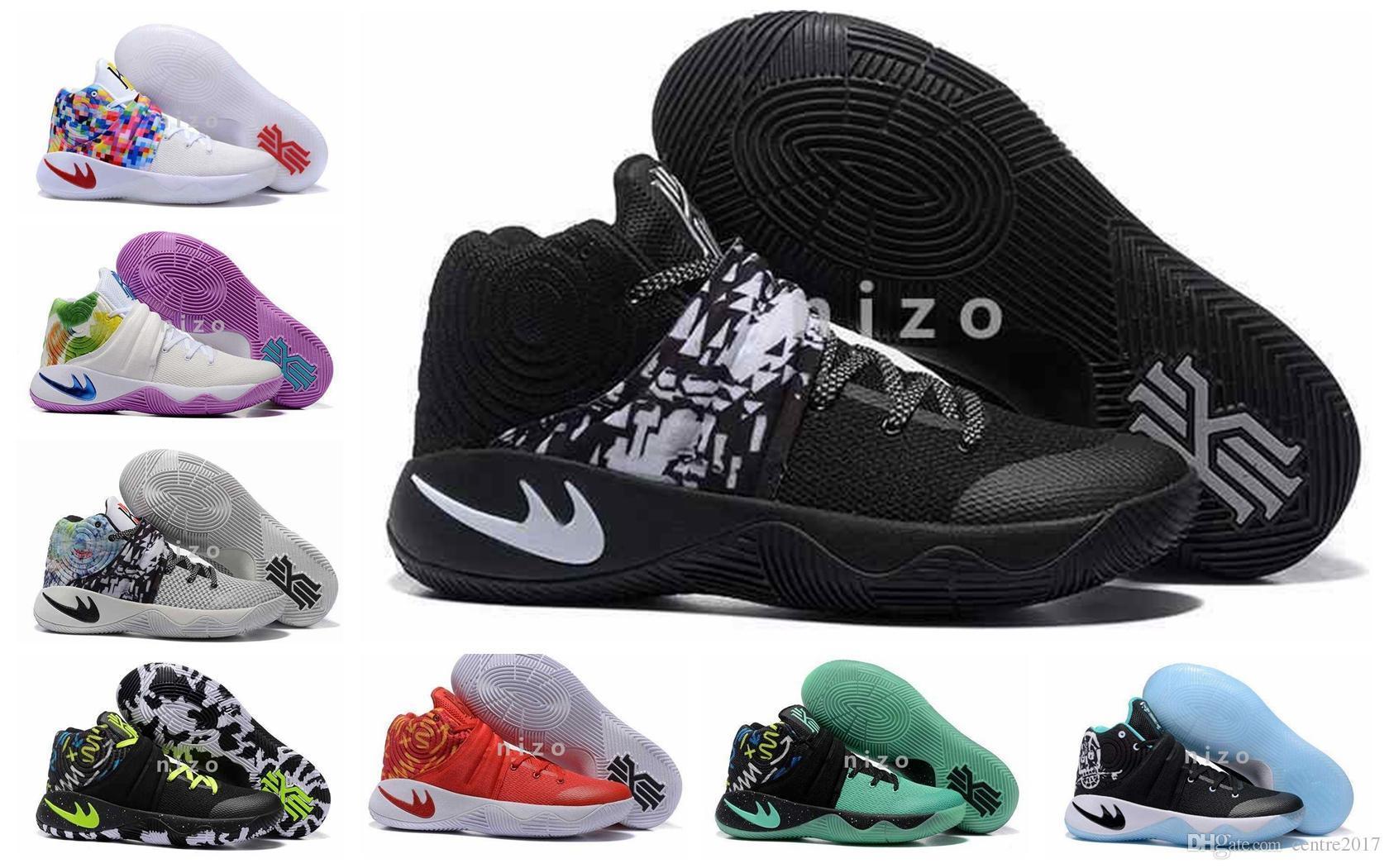 Compre Nuevo Kyrie Irving Calza Los Zapatos De Baloncesto Para ...