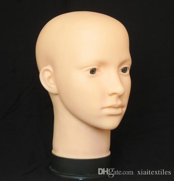 livraison gratuite! tête de mannequin de maquillage pour cils à vendre, style professionnel, tête de coiffure pour perruque, mannequin Femme, M00485