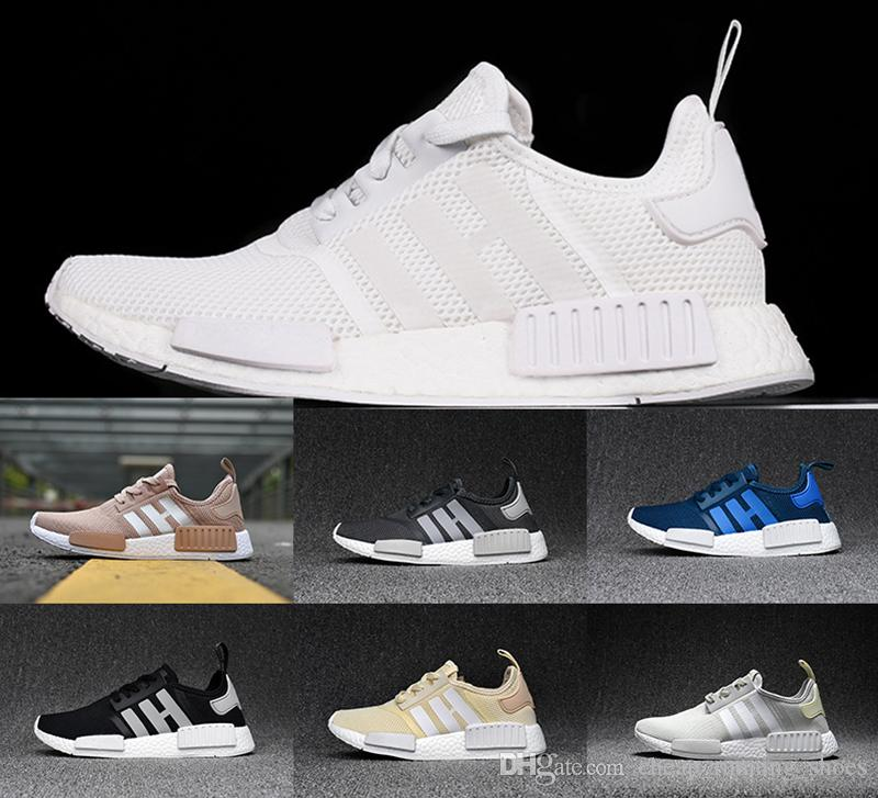 check out 23f67 077ab Adidas NMD R1 PK White Tri Color Hertford County NC