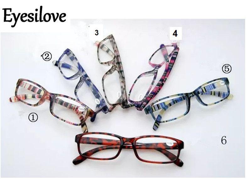 / gafas de lectura coloridas 6 lentes de colores potencia de +1.00 a +4.00 aceptan orden mezclada