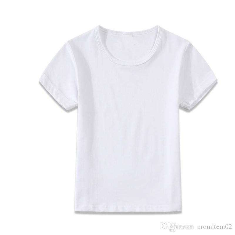 5f69bebe4f61 2019 Kids Blank T Shirts Children Solid Shirts Kid Boy Tees Shirt Girl  Personalized T Shirt Wholesale Shirts Boutique Children Shirt Tees From  Promitem02
