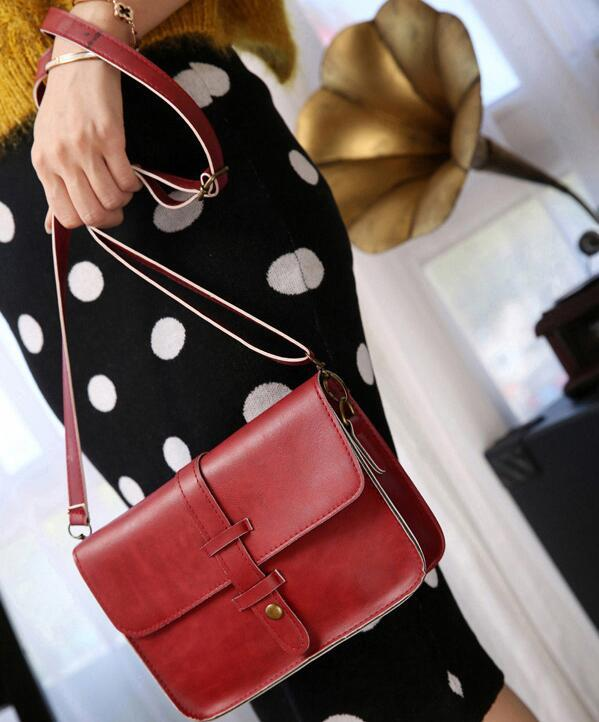 Small Flap Shoulder Bags Girls Women Crossbody PU Leather Bags Mini Messenger Bags Phone Money Credit Cards Holder Purse Handbags