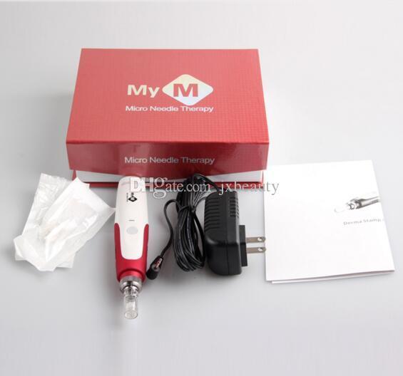 MYM derma kalem Oto Elektrik Mikro İğne Kartuşları ile Anti Derma Yüz Güzellik Derma Kalem Damga Güzellik