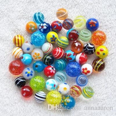 16mm 18mm Glass Marbles Jump Chess Pieces Vase Aquarium Decoration