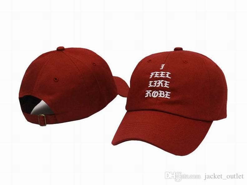 I FEEL LIKE Kobe Lebron Strapback Caps & Hats Strap backs Men Women Sport Snapback Baseball Cap Hip Hop Adjustable Hat Sale