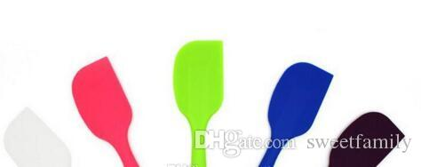 Wedding Candy Color Silicone Cake Spatula Batter Scraper For Snowflake Cake Tools