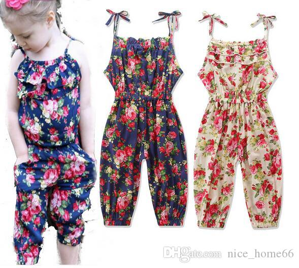 312c8b2b753 Girls Kids Onesies Rompers Jumpsuits Overalls for Children Baby Cotton  Backless Rompers Jumpsuits One Piece Suspender Pants Overalls Clothes  Rompers ...
