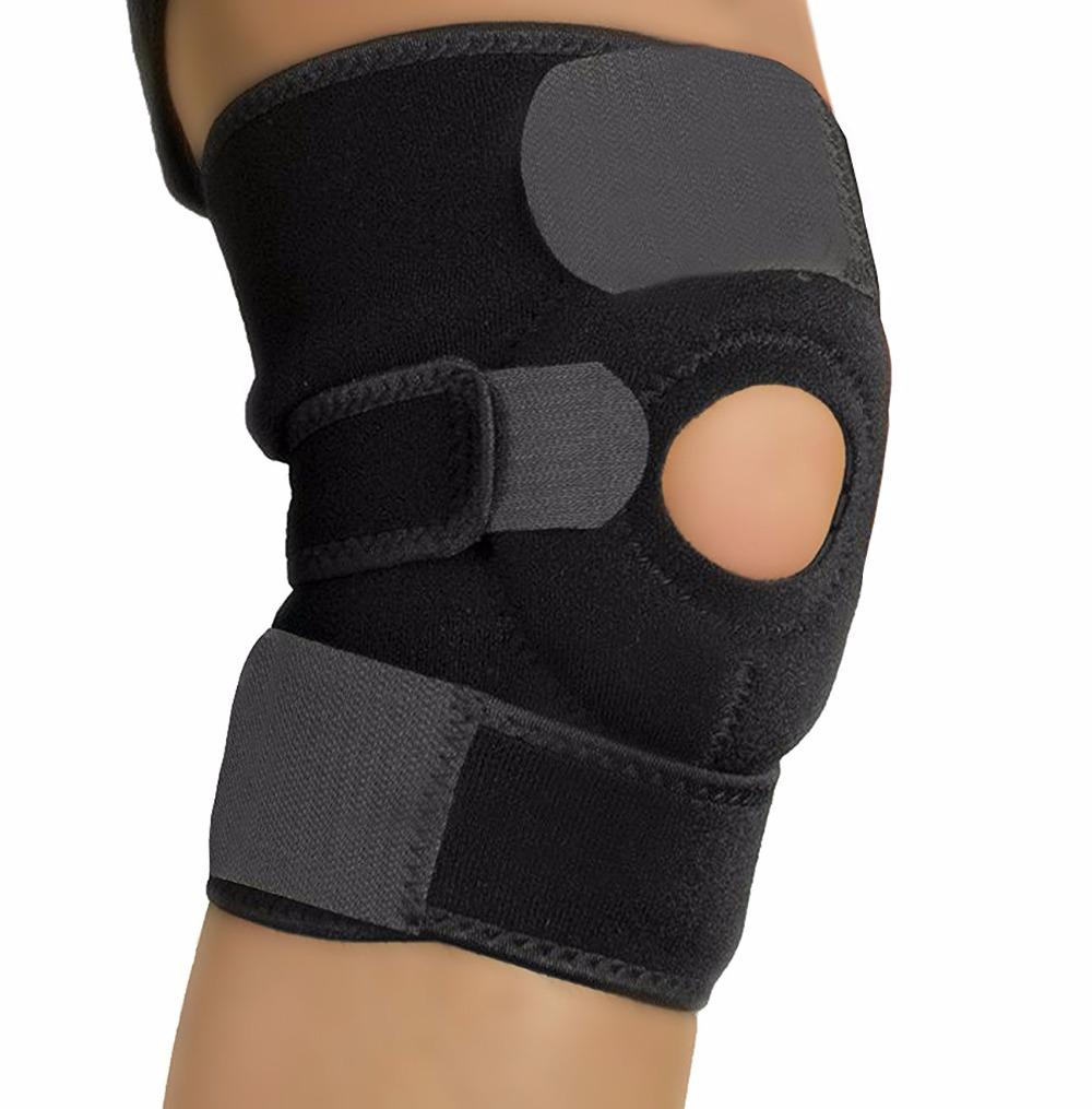 377711a585 Knee Brace Support Adjustable Breathable Neoprene Knee Band Open Patella  Knee Protector For Sport, Arthritis, ACL, Run Ear Wash Industrial Cleaning  Supplies ...