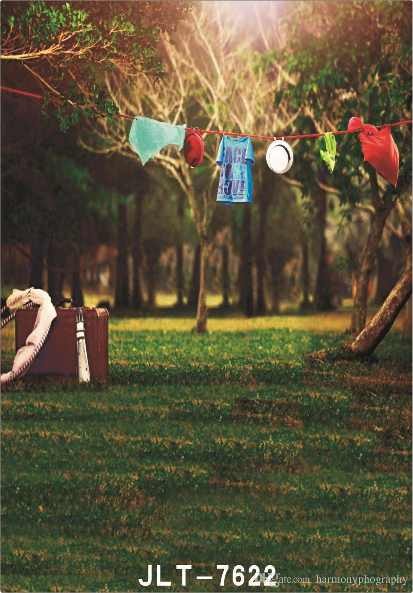 outdoor hanging cloth suit case 5X7ft camera fotografica vinyl cloth photography backgrounds wedding children baby backdrop for photo studio