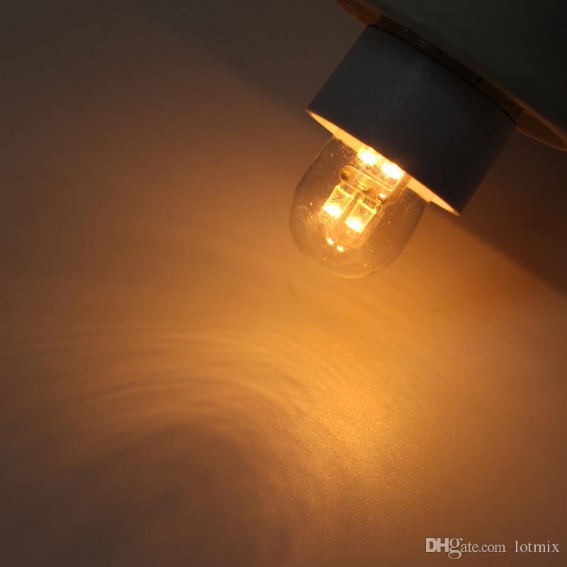 Precio más bajo 0.5W 4 LED E12 E14 Base LED Bombilla Vela Candelabro Lámpara Lámpara Bombilla Puro Blanco cálido No regulable AC120V / 220V