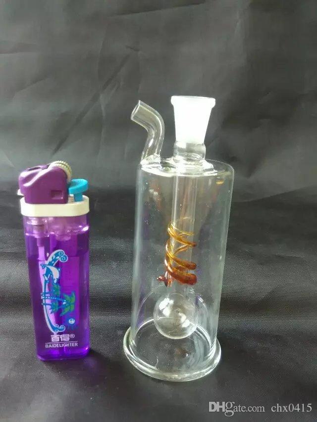 Farbe Glasschläuche, einzigartige Ölbrenner Glasrohre Wasserleitungen Glasrohr Öl Rigs Rauchen mit Pipette