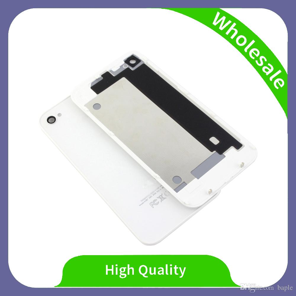 High Quality Assembly Repair Parts Rear Glass For iPhone 4 4s Back Cover Mobile Phone Battery Housing For iPhone 4g 4s