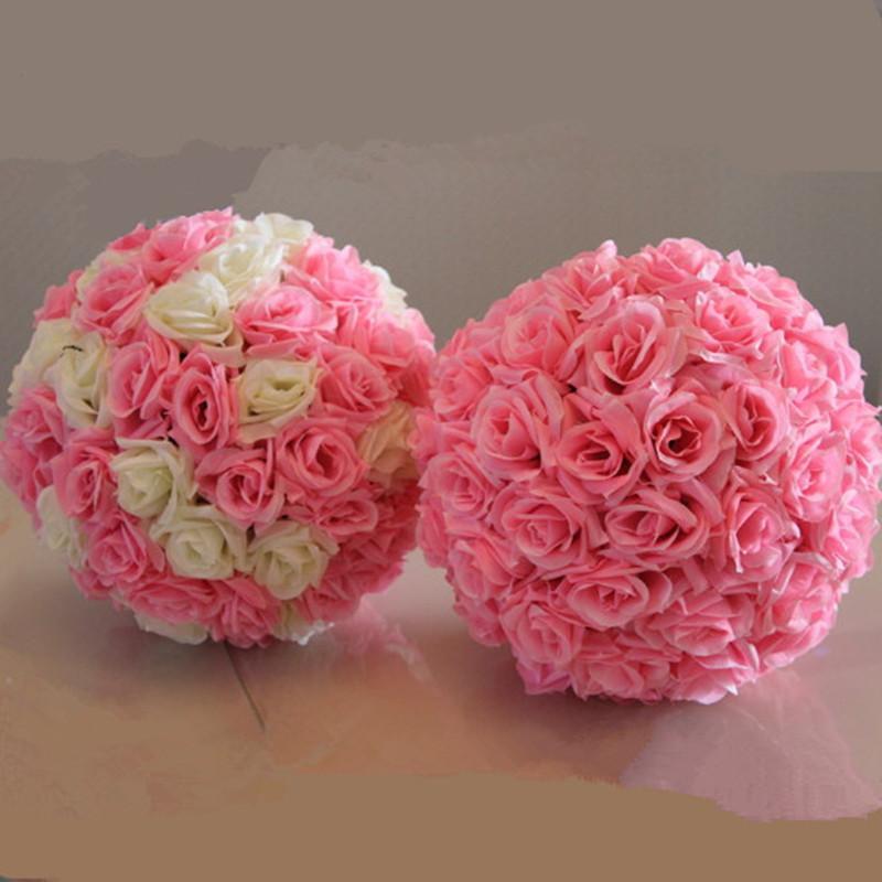 Best Wedding Artificial Flower Ball Decoration Silk Ornament Decor ...