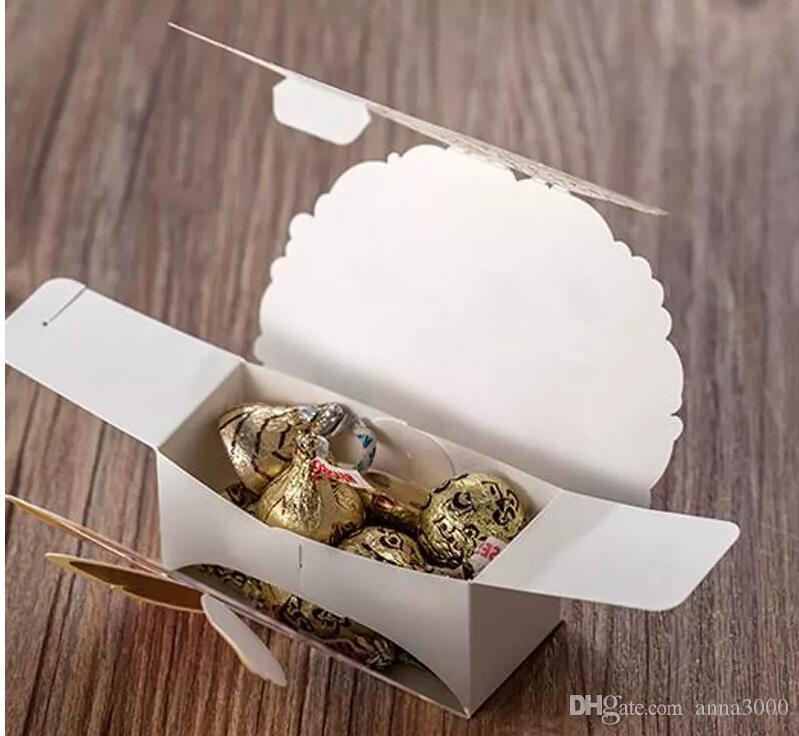 Chocolate Favor Boxes Flower and Butterfly Theme Wedding Candy Box Romantic Favors and Gifts Bag Laser Cut Party Baby Candy Box
