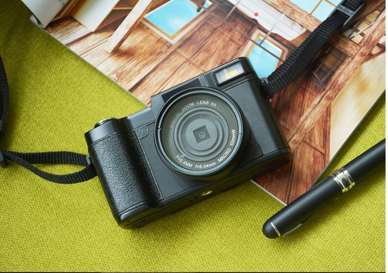 new 24MP HD Half-DSLR Professional Digital Cameras with 4x Telephoto,Fisheye & Wide Angle Lens Camera Macro HD Camera