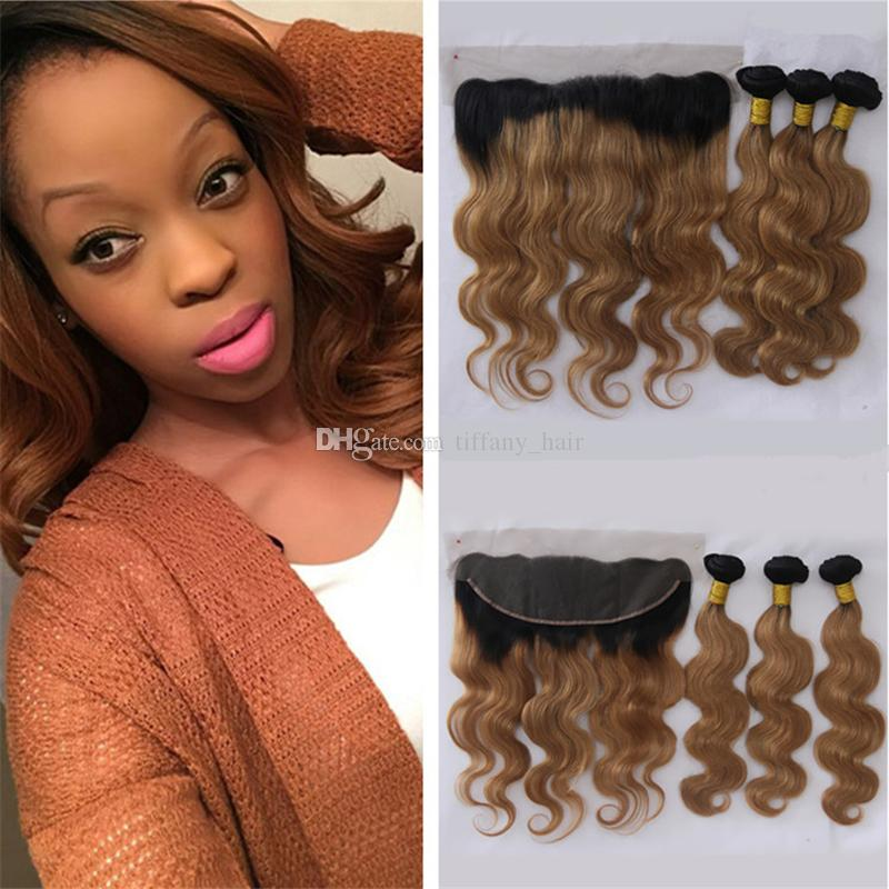 Cheap dark roots auburn ombre lace frontal closure with hair cheap dark roots auburn ombre lace frontal closure with hair bundles two tone 1b30 ombre body wave human hair weaves with lace frontal yaki human hair pmusecretfo Images