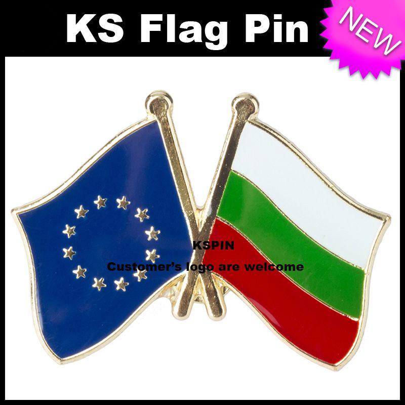 Il perno della bandierina della bandierina della bandierina della bandiera di Hangery dell'Unione Europea molto libera il trasporto XY0074-8