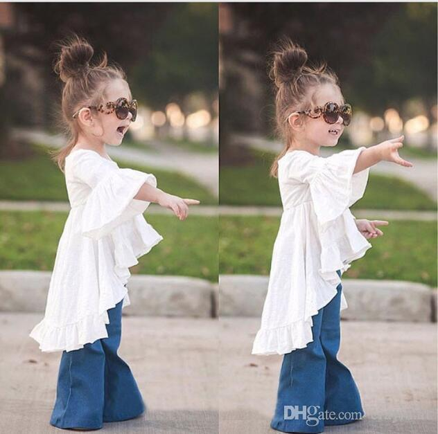 New ins hot style children's clothing baby boom fairy small beautiful skirt from bamboo cotton dress party dress Ball Gown dress