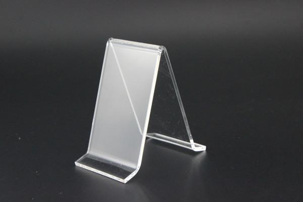 2020 Clear A Shape Acrylic Shoe Support Stand Bracket