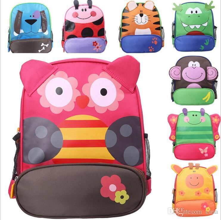 New Arrival Children Kids Shoulder Bags Boys Grils Cute Cartoon