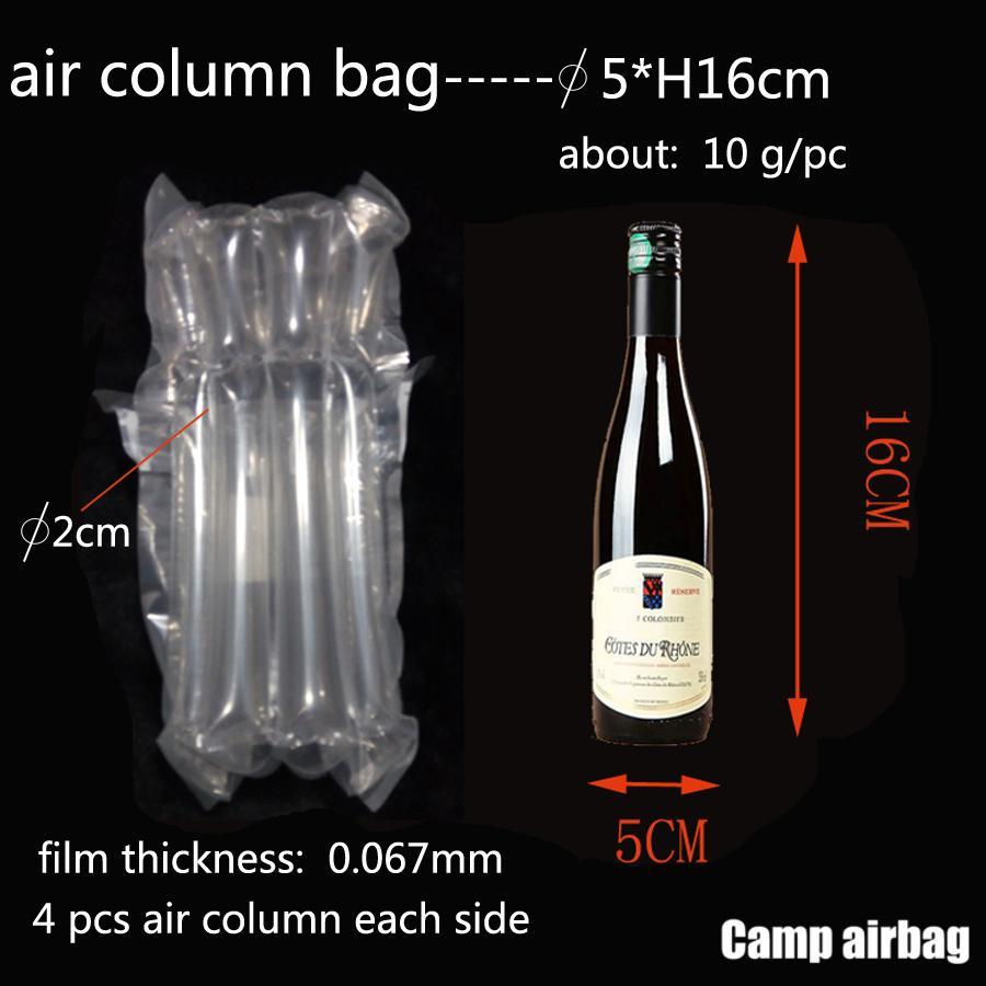 Надувная Воздушная пневмооболочка Dia.5 * H16cm на воздушную подушку Колонок 3 см Buffer мешок защиты продукта хрупких товаров