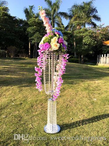 Düğün centerpieces için sıcak yeni satış çiçek standı moda parti dekorasyon