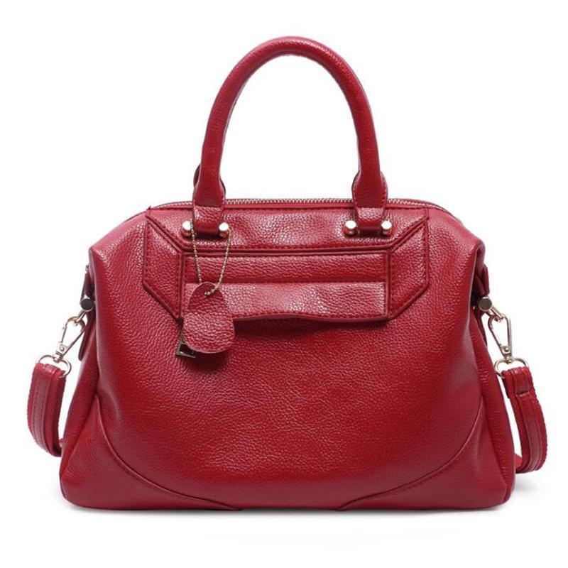 1d4a8ca5ae69 Wholesale- Genuine Leather Bag 2016 New European Fashion Women Bag ...