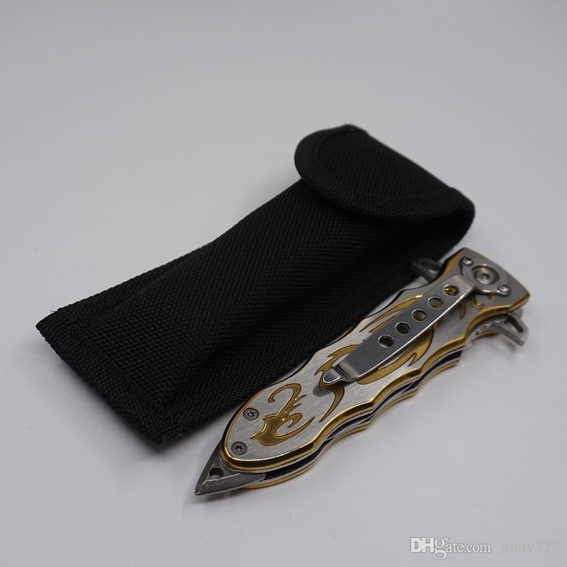 SOG Katlanır Pocket Knife Kamp Avcılık İsviçre Ordu Bıçak 420 Paslanmaz Çelik Naylon Ceket ile Çok Aracı Taktik Survival Bıçaklar