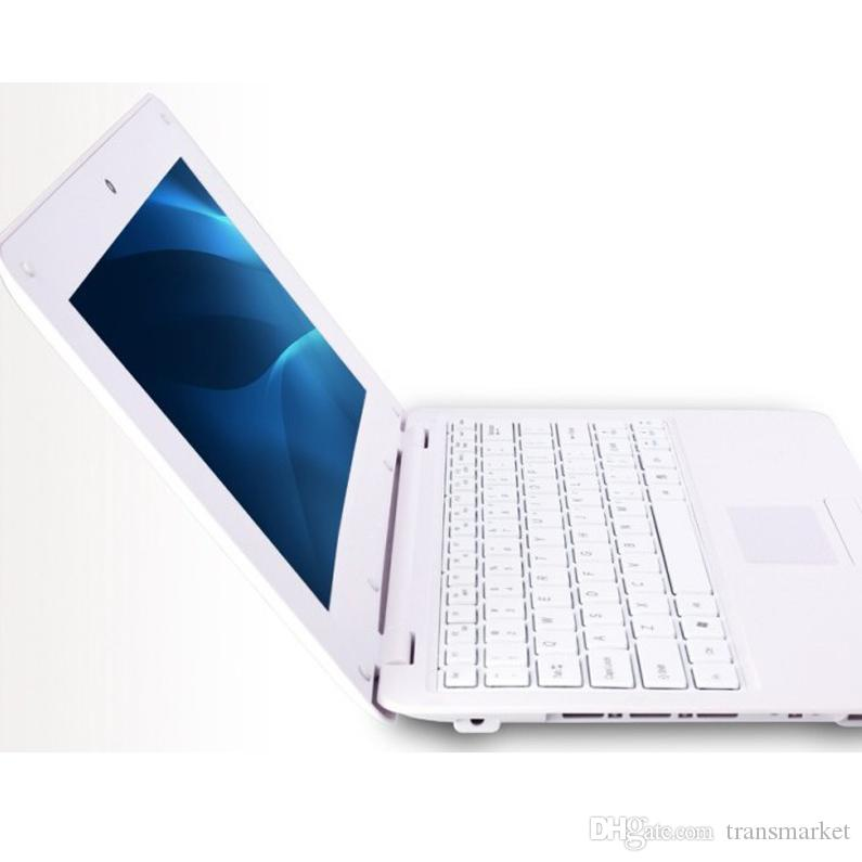 10 Polegada Notebook Android laptop HDMI Laptop polegada dual core 1G RAM 8 GB ROM Android 4.4 A33 1.5GHZ Bluetooth HDMI Wi-fi Mini Netbook