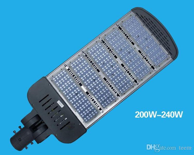 Iluminação ao ar livre high-pólo levou luz steet 80 W 100 W 120 W 150 W 200 W 250 W conduziu a iluminação da estrada escolher luzes do braço luzes de rua à prova d 'água IP67