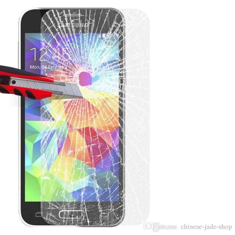 Samsung Galaxy S3 S4 S5 S6 S7 s6 bordo s7 bordo s8 s8 plus nota 8 9H Premium protezione schermo in vetro temperato / lotto