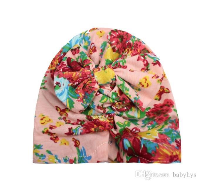 fashion new baby hair printing headflwers &hats accessories /more for 0-3T baby free size