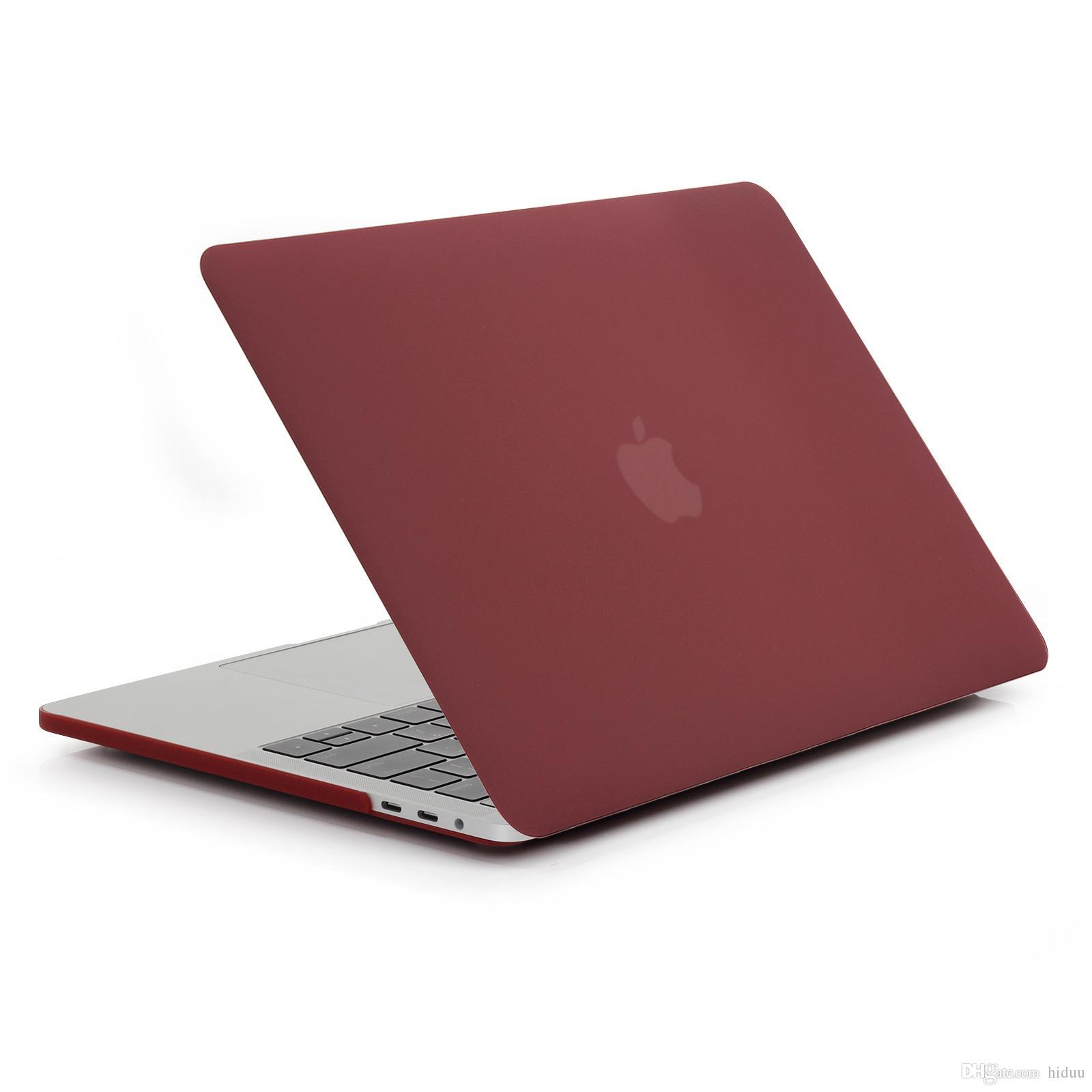 MacBook Pro 15 inç için Mat Kauçuk Kaplı Yumuşak Dokunmatik Plastik Hard Case YENİ Sürüm - Sürüm Ekim 2016 Klavye kapağı ile A1707