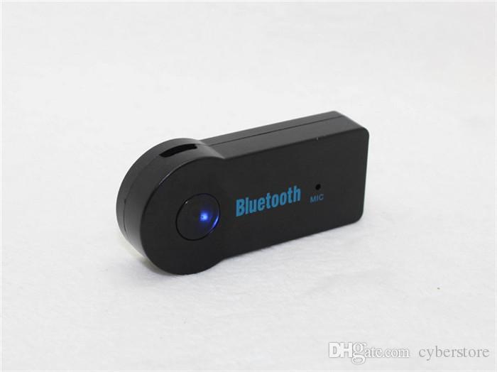 Receptor inalámbrico Bluetooth para el coche AUX Auricular Altavoz 3.5 mm Bluetooth Audio Adaptador de música Jack con micrófono con paquete al por menor
