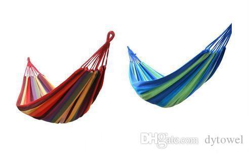 280 * 150 cm 2 Pessoa Hammock hamac ao ar livre Cama de Lazer pendurado cama dupla tela de dormir balanço do jardim hammock camping caça Max 250kgs