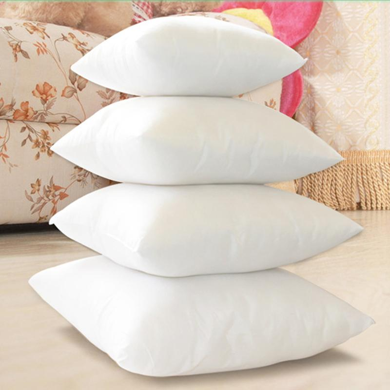 Wholesale Pillow Case White Pillow Core Square Cushion Filling Enchanting Decorative Pillow Inserts Wholesale