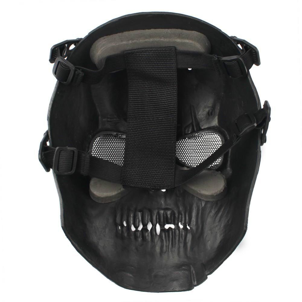 2016 Army Mesh Vollmaske Schädel Skeleton Airsoft Paintball BB Gun Spiel Schützen Schutzmaske